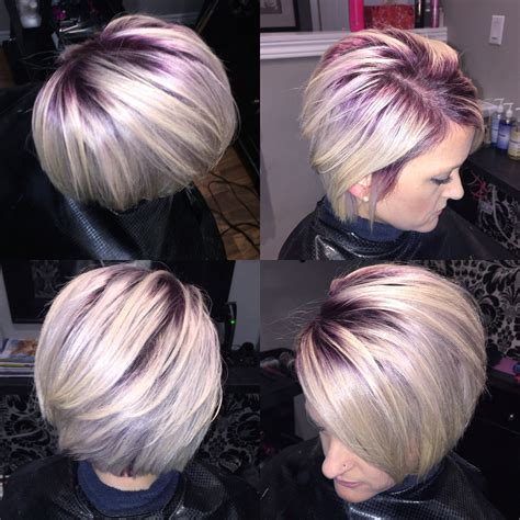 Purple root shadowing   Hair   Pinterest   Hair coloring