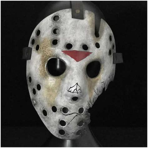 jason hockey deluxe jason hockey mask part 7 mad about horror