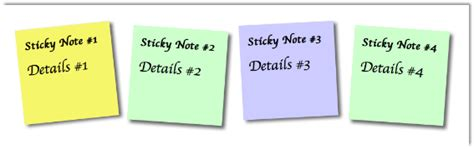 css making notes how to create a sticky note using css articles dmxzone com