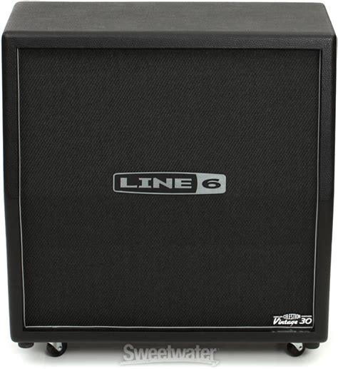 Line 6 Cabinet 4x12 by Line 6 412vs 120w 4x12 Quot Slant Cabinet Sweetwater