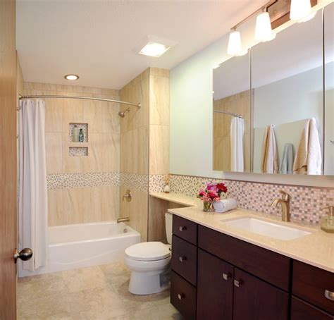 Hall Bathroom Ideas by Centerville Hall Bathroom Contemporary Bathroom