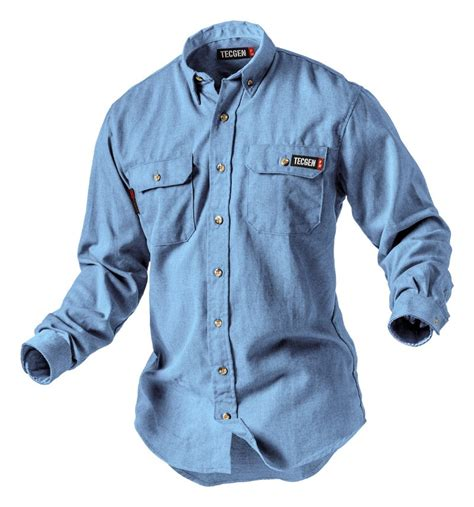 resistant 5 5 oz dress shirt fr clothing