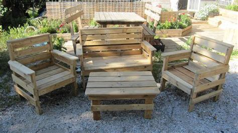 Diy Outdoor Pallet Furniture How To Make Pallet Patio Furniture