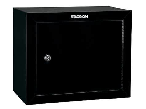 Stack On Pistol Cabinet by Stack On Pistol Ammo Security Cabinet 2 Shelves Black