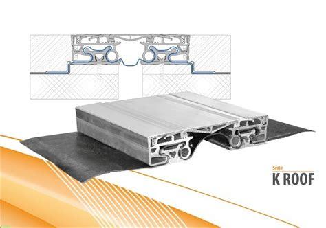 giunto dilatazione pavimento giunto per pavimento in alluminio k roof tecno k giunti
