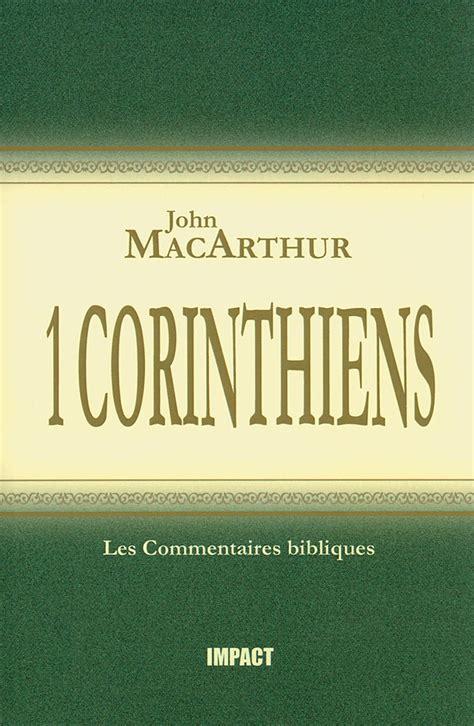Commentaire Macarthur 09 1 Corinthiens Excelsis
