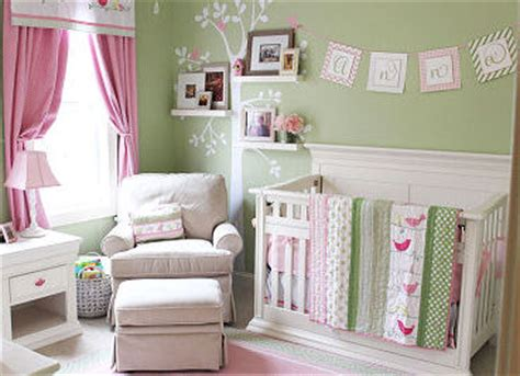 pink and green baby room pink and green nursery ideas