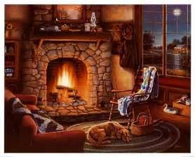 cabin fever fireplace designs