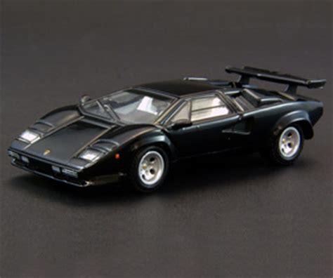 Lamborghini Countach Black Kyosho Lamborghini Countach Lp500 Black 06411bk In 1