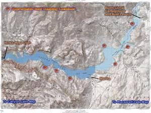 arizona fishing map apache lake cground map www carizona your