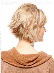 layered crown haircut hairstyle tutorial layered flipped cut with volume at