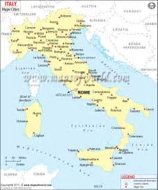 maps update 800966 italy city map tourist cities in