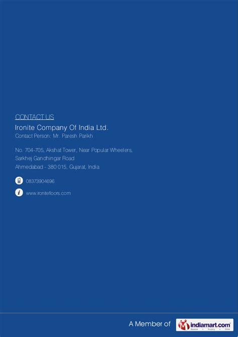 Bantal Iron Limited ironite company of india ltd