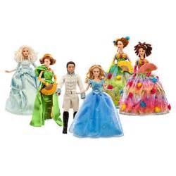 cinderella film toys cinderella doll set live action disney film collection