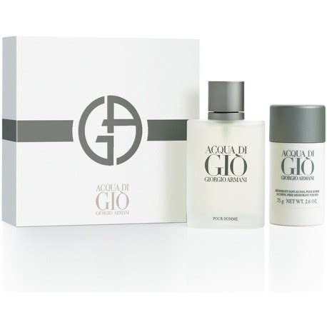 Parfum Giorgio Armani Aqua Di Gio Original 100 giorgio armani acqua di gio pour homme eau de toilette 100ml deostick 75ml perfumes