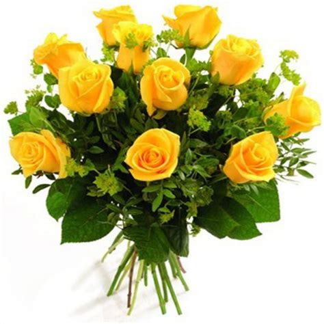 Home Decor At Wholesale Prices bunch of 10 yellow roses home decor online shopping
