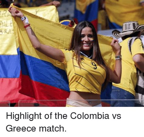 Colombian Memes - pale highlight of the colombia vs greece match soccer