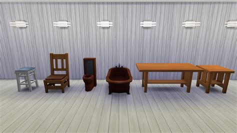 sims  tutorial   woodworking