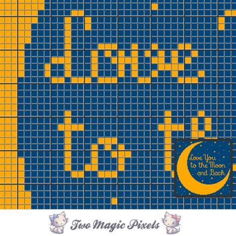 pattern magic 3 pdf free download to the moon crochet blanket pattern c2c twomagicpixels