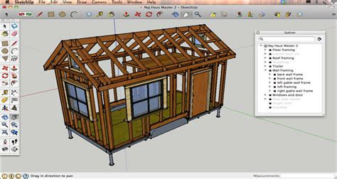 free tiny house design software sketchup tutorial sketchup tiny house design lesson 2