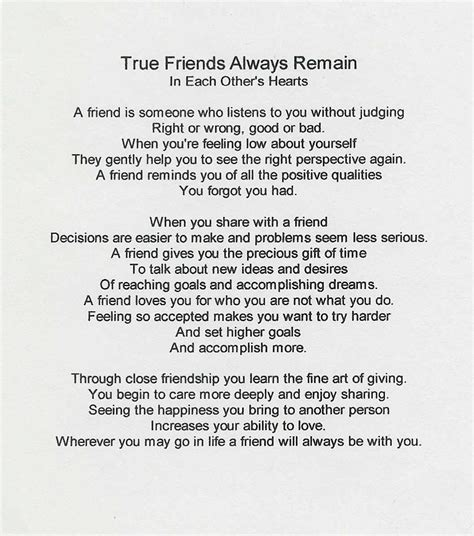 true friend poems true friends always poem