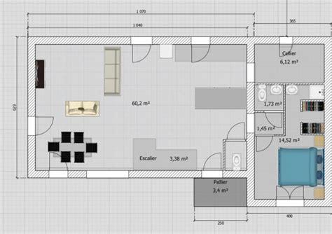 am駭agement garage en chambre maison de 110m 178 avec 201 tage sur terrain de 450m 178 garage