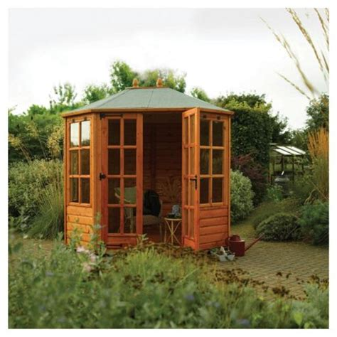 buy summer house buy rowlinson ryton octagonal summerhouse from our summer houses range tesco