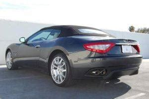 new york maserati granturismo convertible rental luxury