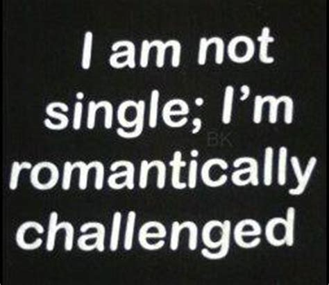 romantically challenged books i am single quotes quotesgram