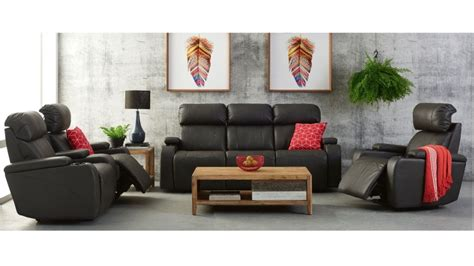 Harvey Norman Au Furniture Living Room Lounges Recliners Alton 3 Seater Future Fabric Powered Recliner Lounge