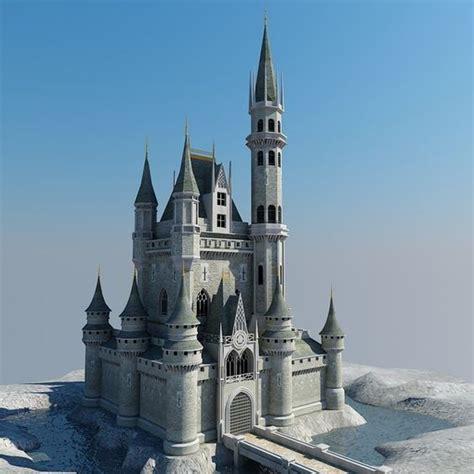 Building Castles by Castle Building Architecture 3d Model Castle 02 By