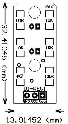 Optocoupler Module Sensor Kecepatan dim 019 di rev1 di ay ref wan di rotary encoder versi