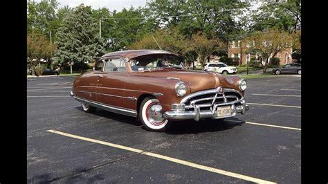 hudson hornet tribute  texas tan paint engine sound   car story  lou