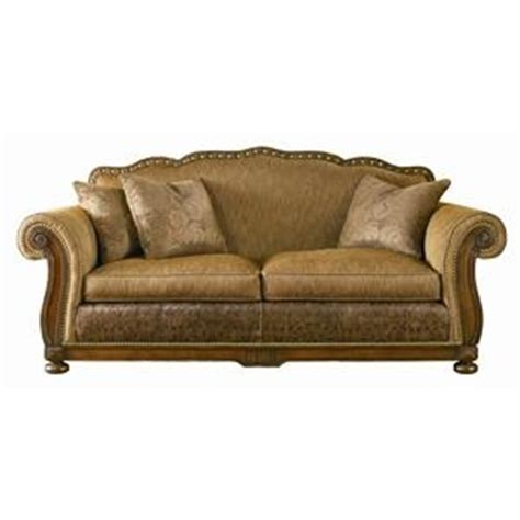 leather sofa with wood trim 44 best images about furniture on wood trim