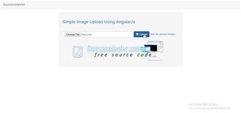 tutorial php angularjs simple image upload using angularjs php free source code