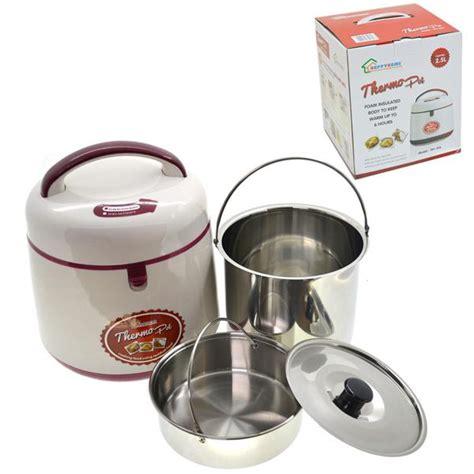 hakasima thermal cooker white 2 5l japanese multi functional thermal cooker