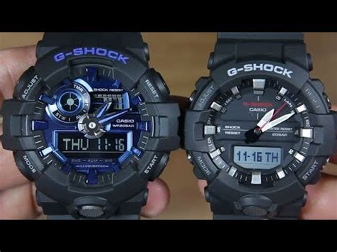 Casio G Shock Ga 710 1a2 casio g shock ga 710 1a2 vs g shock ga 800 1a