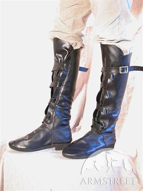 Handmade Leather Boots Renaissance - handmade leather boots for sca and