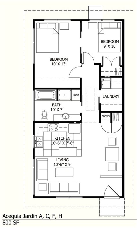 800 sq ft house plans 25 best ideas about 800 sq ft house on pinterest small cottage plans small homes