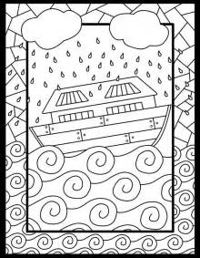 noah and the ark coloring page free coloring pages of noah s ark rainbow