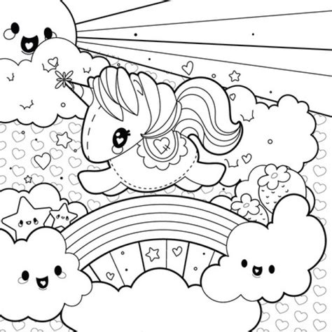 coloring pages unicorns rainbows coloring pages unicorns rainbows pictures of rainbows and
