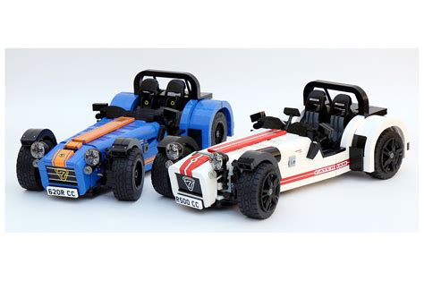 simplify then add bricks caterham seven gets a lego kit