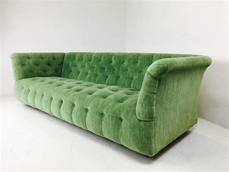 tufted couches for sale milo baughman chesterfield style tufted sofa for sale at