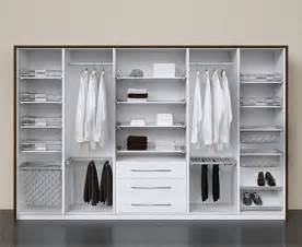 Fittings systems for wardrobe interiors