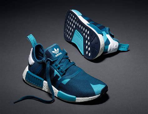 Sneakers Adidas Nmd R1 Bnib adidas originals nmd r1 s75722 mens trainer blue navy geometric camo sneakers