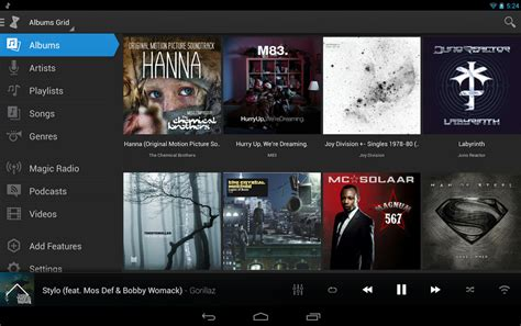 albums free android best free android player apps android mp3 players