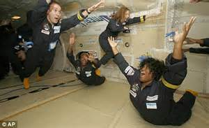 no gravity room nasa science editor michael hanlon a weight my mind as he is blasted into space daily