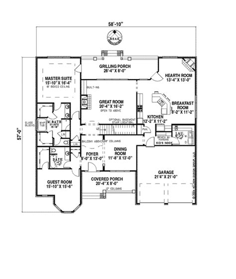 the quinn floor plan quinn traditional home plan 055d 0186 house plans and more