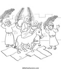 coloring page jesus rides into jerusalem free coloring pages of triumphal entry of jesus
