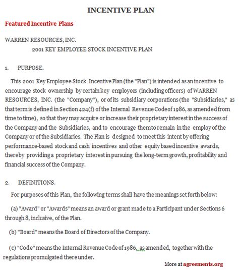 bonus plan template best photos of bonus plan template incentive plan